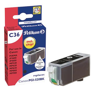 Pelikan Tintenpatrone  Canon PGI520BK