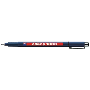 edding Fineliner 1800 profipen  0,25 mm