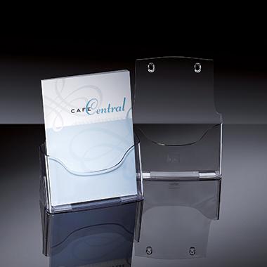Sigel Prospekthalter acrylic  24 x 29 x 9 cm (B x H x T)