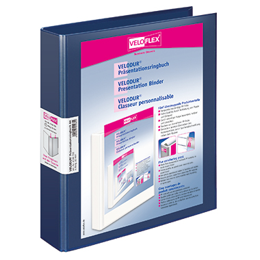 Veloflex Präsentationsringbuch VELODUR®  46 mm 4 Ringe, D-Mechanik Hebelmechanik