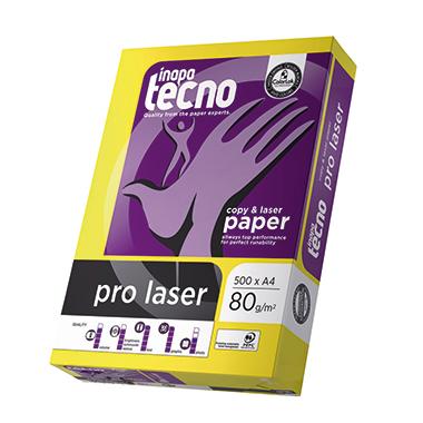 inapa tecno Kopierpapier pro laser  500 Bl./Pack.