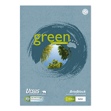 Ursus® Briefblock Green