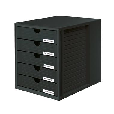 HAN Schubladenbox SYSTEMBOX schwarz