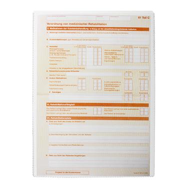 DURABLE Ausweishülle  148 x 210 mm (B x H) oben offen