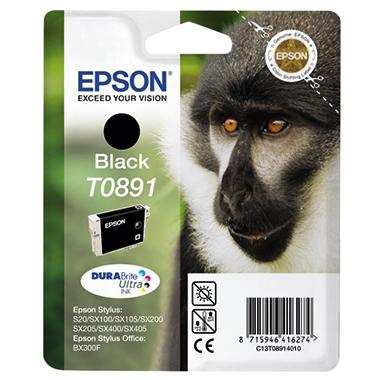 Epson Tintenpatrone T0891 schwarz