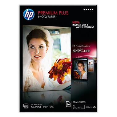 HP Fotopapier Premium Plus DIN A4