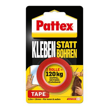 Pattex Montageklebeband Kleben statt Bohren