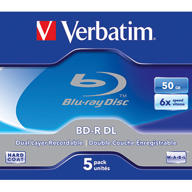 Verbatim BD-R Double Layer