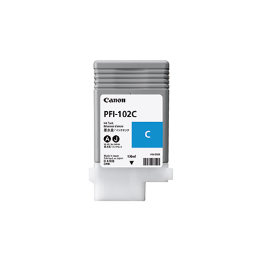 Canon Tintenpatrone PFI102C cyan