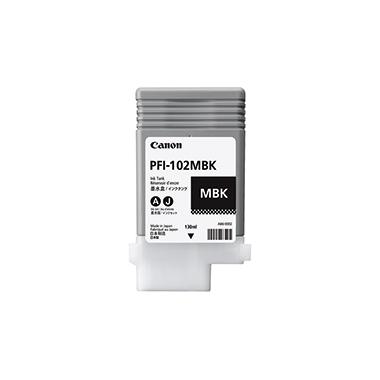 Canon Tintenpatrone  PFI102MBK schwarz matt
