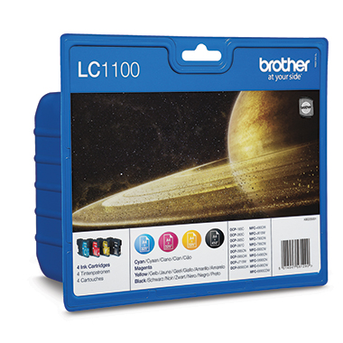 Brother Tintenpatrone LC1100