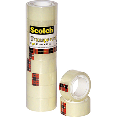 Scotch® Klebefilm 550  25 mm 8 Rl./Pack.