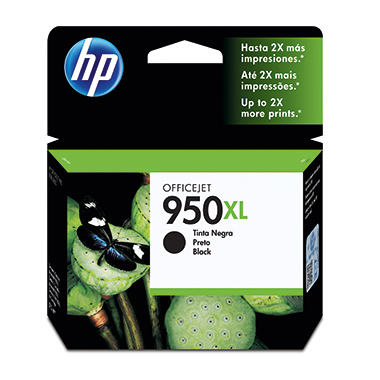 HP Tintenpatrone  950XL schwarz