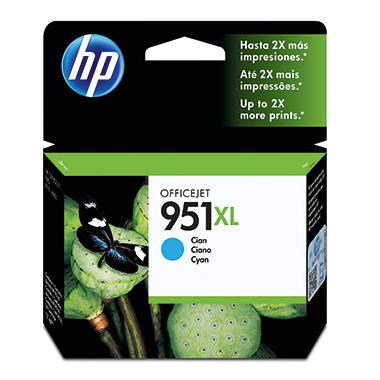 HP Tintenpatrone  951XL cyan