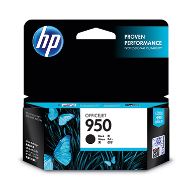 HP Tintenpatrone  950 schwarz