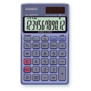 CASIO® Taschenrechner SL-320TER+