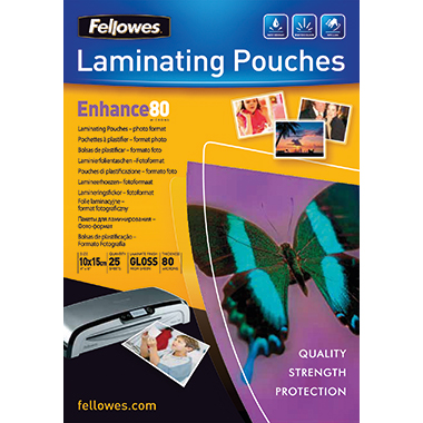 Fellowes® Laminierfolie Enhance 80