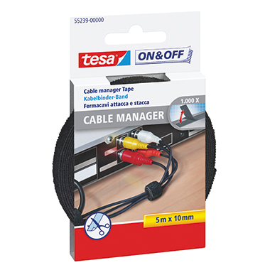 tesa® Kabelbinder On & Off® Cable Manager Universal