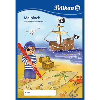Pelikan Malblock  DIN A4