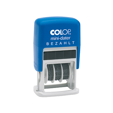 COLOP® Datumsstempel mini-dater 160/L  BEZAHLT