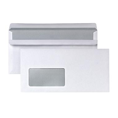 Briefumschlag DIN lang mit Fenster