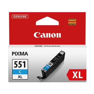 Canon Tintenpatrone CLI551XLC