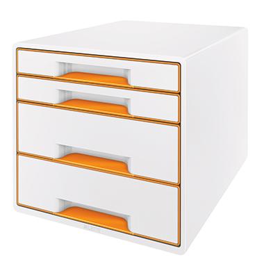 Leitz Schubladenbox WOW CUBE  4 Schubfächer