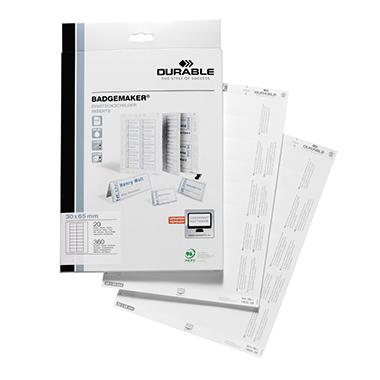 DURABLE Einsteckschild BADGEMAKER® 65 x 30 mm (B x H)