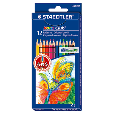 STAEDTLER® Farbstift Noris Club® 144  175 mm 12 St./Pack.