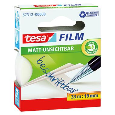 tesa® Klebefilm tesafilm® matt-unsichtbar