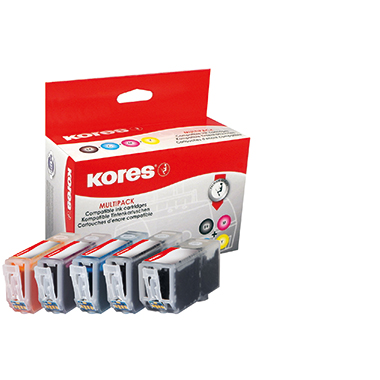 Kores Tintenpatrone  Canon PGI525/CLI526