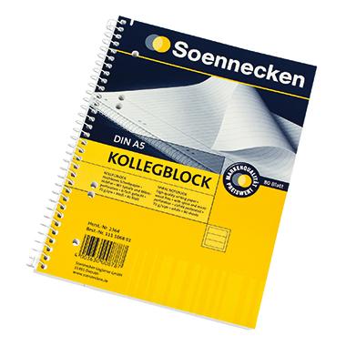 Soennecken Collegeblock  DIN A5