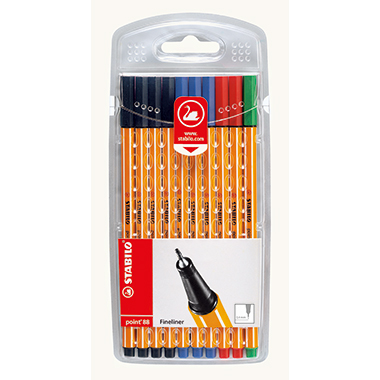 STABILO® Fineliner point 88®  10 St./Pack.