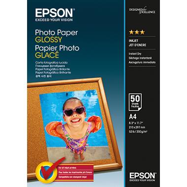 Epson Fotopapier Glossy DIN A4 200 g/m²