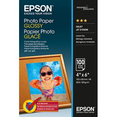 Epson Fotopapier Glossy 10 x 15 cm (B x H) 200 g/m²
