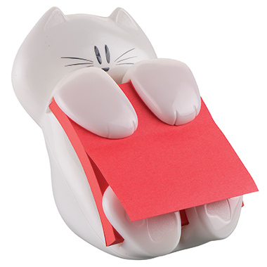 Post-it® Haftnotizspender Super Sticky Z-Notes Katze