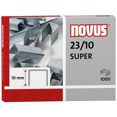NOVUS Heftklammer  23/10 SUPER