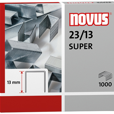 NOVUS Heftklammer  23/13 SUPER