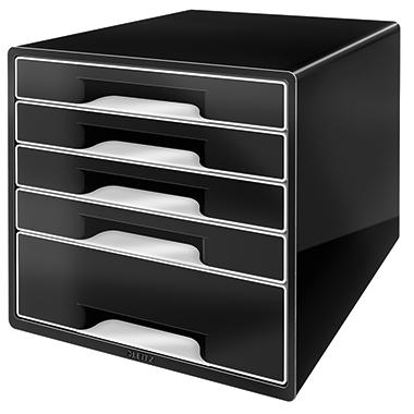 Leitz Schubladenbox CUBE  5 Schubfächer