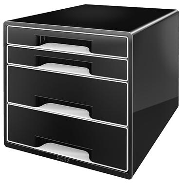 Leitz Schubladenbox CUBE  4 Schubfächer