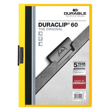 DURABLE Klemmmappe DURACLIP® 60