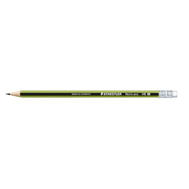 STAEDTLER® Bleistift Wopex Noris® Eco mit Radierer