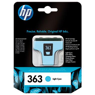 HP Tintenpatrone 363  fotocyan