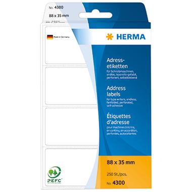 HERMA Adressetikett