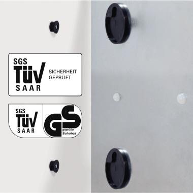 Sigel Glasboard artverum® 12 x 78 x 1,5 cm (B x H x T)