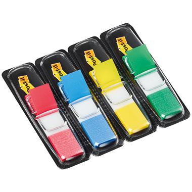 Post-it® Haftstreifen Index Mini  4 Block/Pack.
