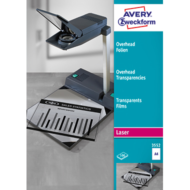 Avery Zweckform OHP Laserfolie