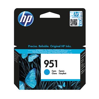 HP Tintenpatrone  951 cyan