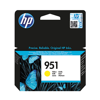 HP Tintenpatrone  951 gelb
