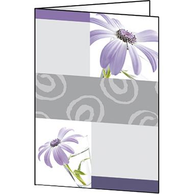 Sigel Faltkarte  DIN A6
